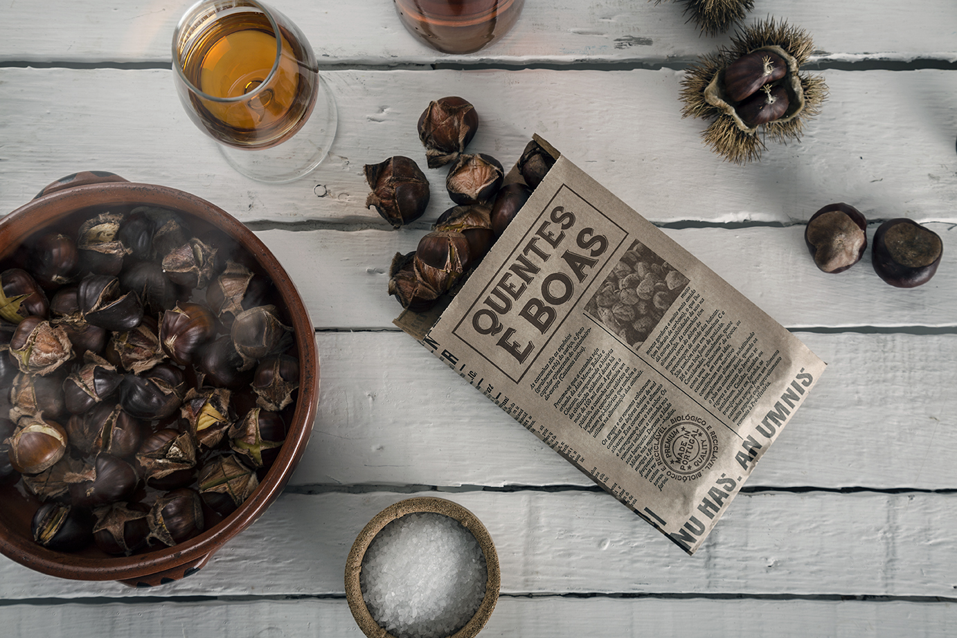 Meet the new Bag of Roasted Chestnuts