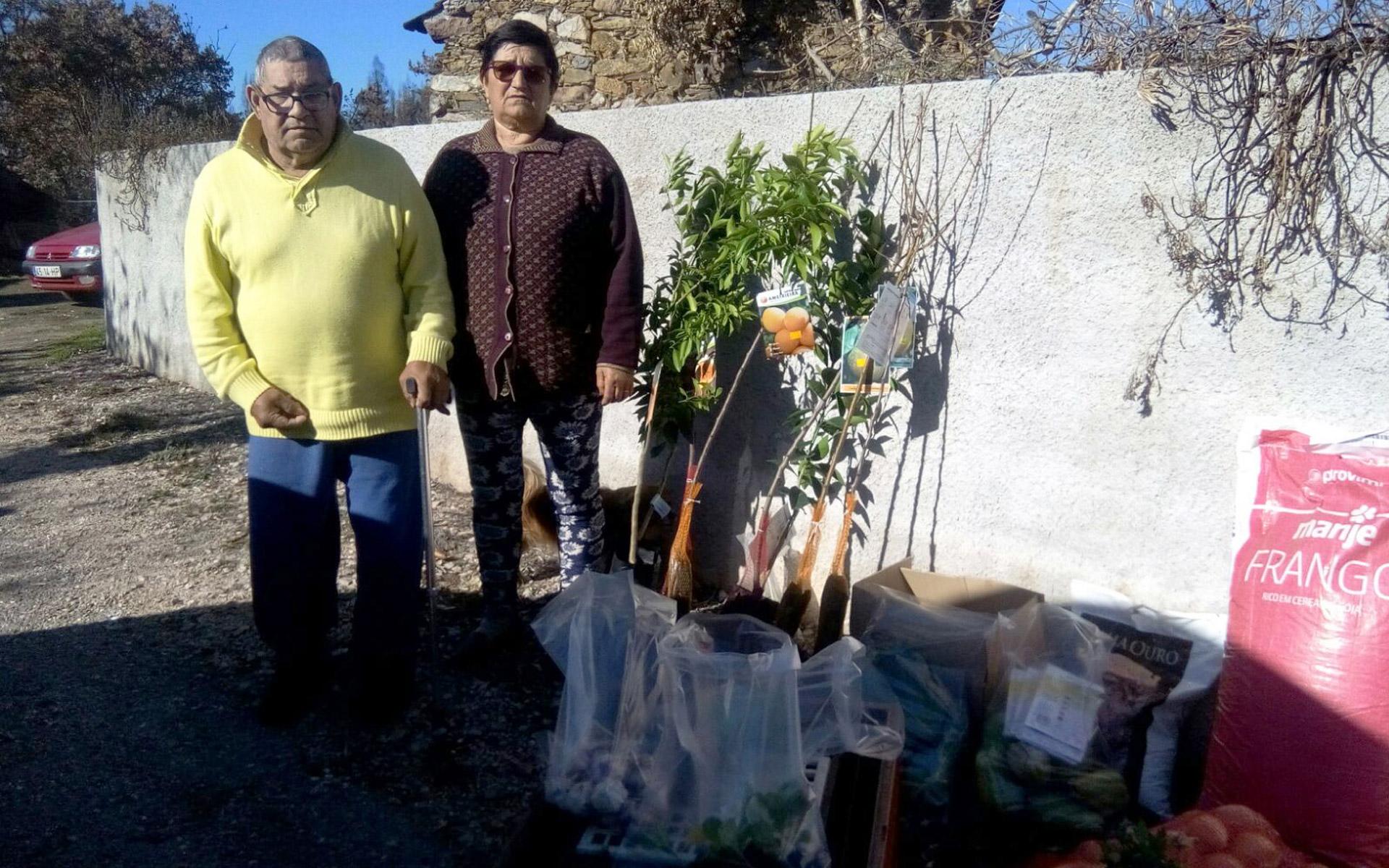 Bolseira promove ação solidária pelas vítimas dos incêndios