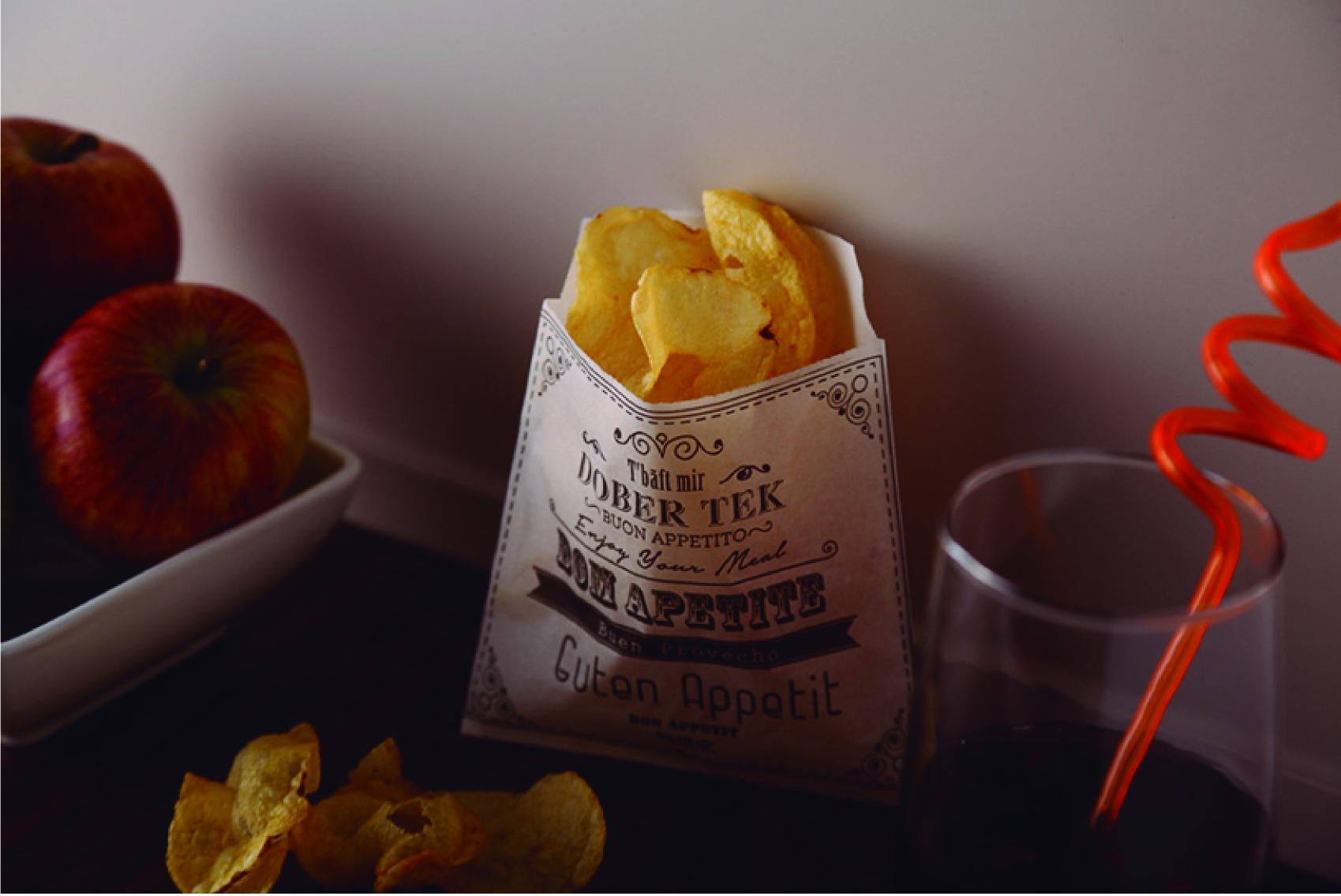 Sacs Papier Ingraissable Chips
